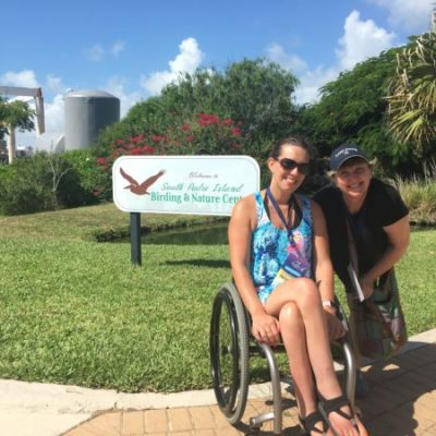 South Padre Birding Center and Wheelchair Accessibility