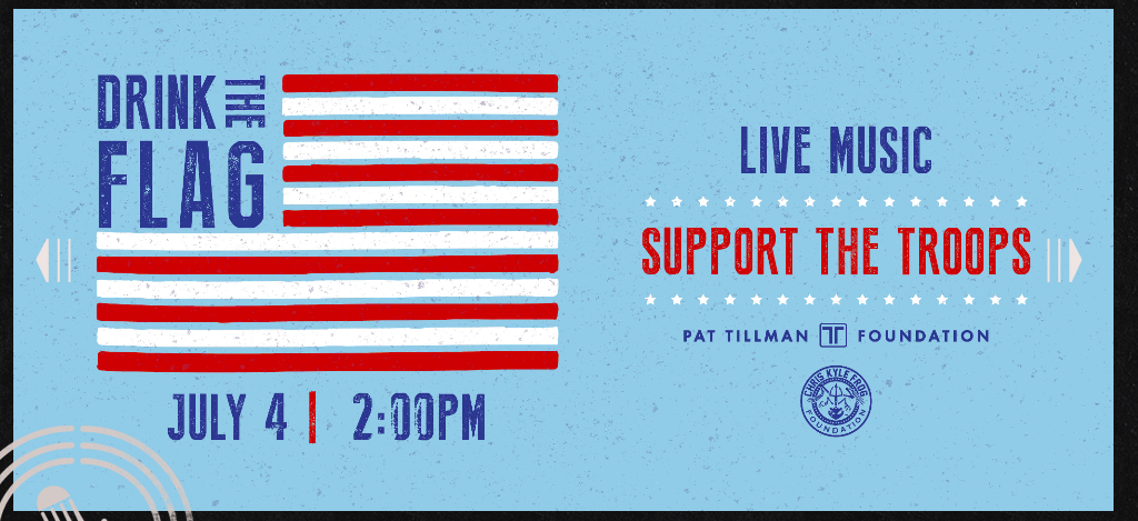 July 4th, Support the Trrops